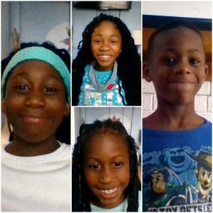 Annmarie, Serena, Cordale and Malaya